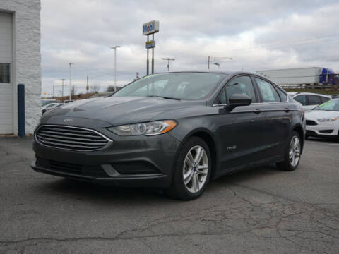 2018 Ford Fusion Hybrid for sale in Fowlerville, MI