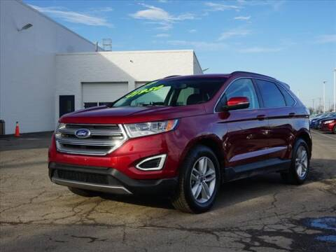 2017 Ford Edge SEL for sale at FOWLERVILLE FORD in Fowlerville MI