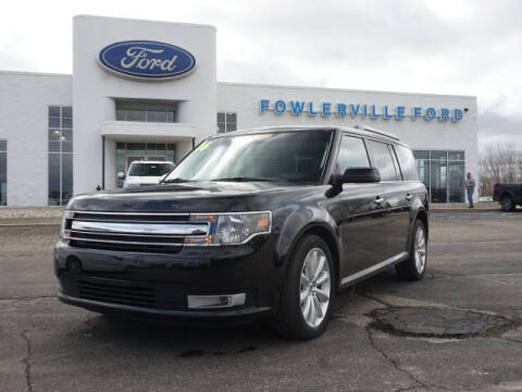 2016 Ford Flex SEL for sale at FOWLERVILLE FORD in Fowlerville MI