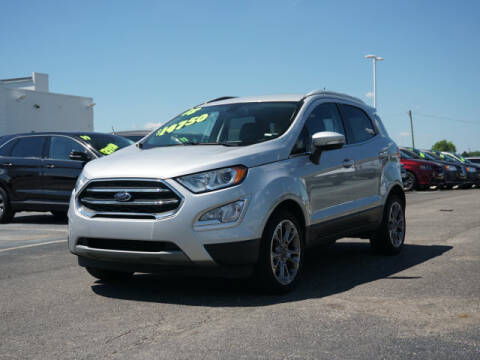 2018 Ford EcoSport for sale at FOWLERVILLE FORD in Fowlerville MI