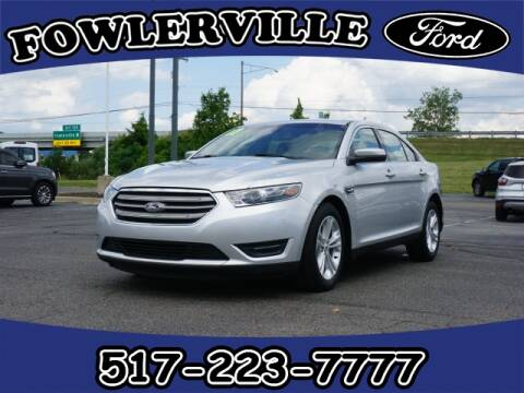 2017 Ford Taurus for sale at FOWLERVILLE FORD in Fowlerville MI