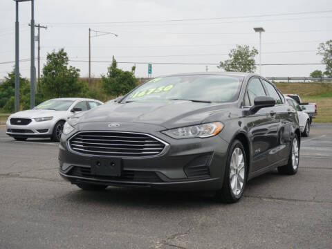 2019 Ford Fusion Hybrid for sale at FOWLERVILLE FORD in Fowlerville MI
