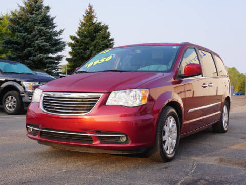 2015 Chrysler Town and Country for sale at FOWLERVILLE FORD in Fowlerville MI