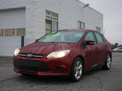 2014 Ford Focus for sale at FOWLERVILLE FORD in Fowlerville MI