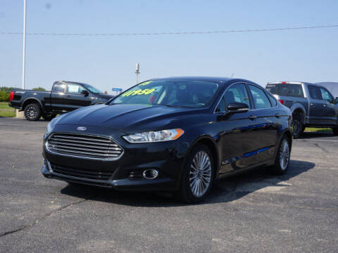 2015 Ford Fusion for sale at FOWLERVILLE FORD in Fowlerville MI