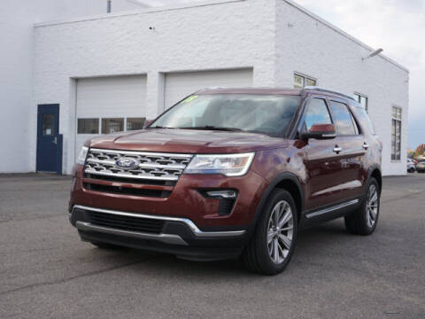 2018 Ford Explorer for sale at FOWLERVILLE FORD in Fowlerville MI