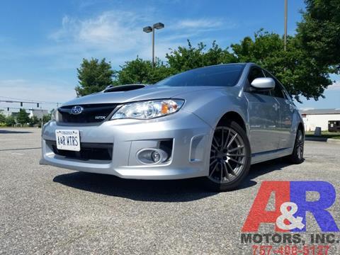 2014 Subaru Impreza for sale at A&R MOTORS in Portsmouth VA