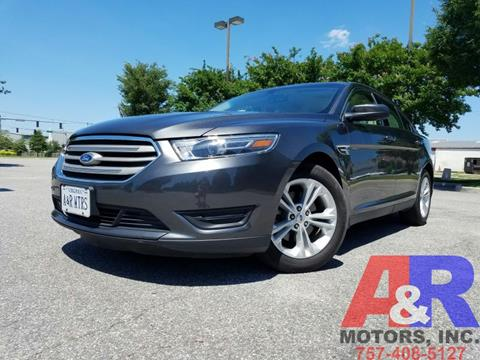 2015 Ford Taurus for sale at A&R MOTORS in Portsmouth VA