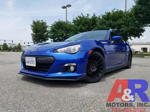 2015 Subaru BRZ for sale at A&R MOTORS in Portsmouth VA