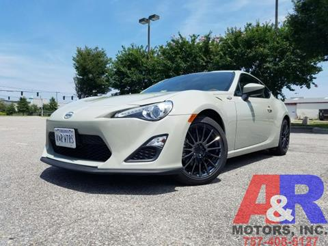 2016 Scion FR-S for sale at A&R MOTORS in Portsmouth VA
