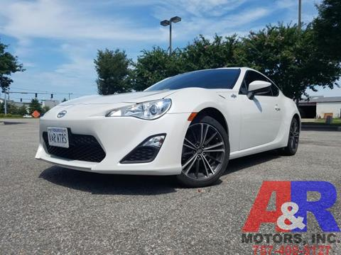 2013 Scion FR-S for sale at A&R MOTORS in Portsmouth VA