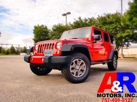 2015 Jeep Wrangler Unlimited for sale in Portsmouth, VA