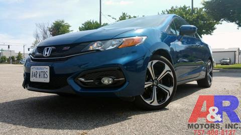 2014 Honda Civic for sale at A&R MOTORS in Portsmouth VA