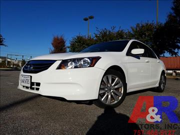 2012 Honda Accord for sale at A&R MOTORS in Portsmouth VA