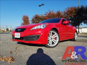 2011 Hyundai Genesis Coupe for sale at A&R MOTORS in Portsmouth VA