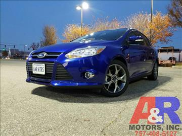 2014 Ford Focus for sale at A&R MOTORS in Portsmouth VA