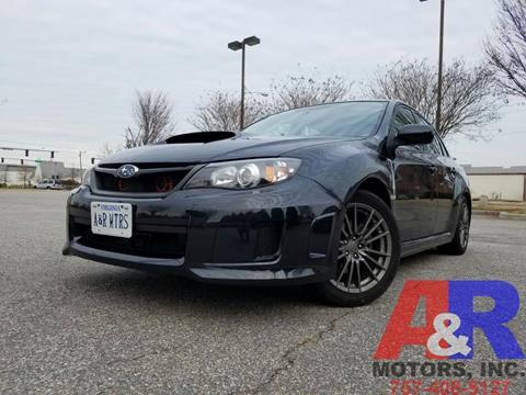 2011 Subaru Impreza for sale at A&R MOTORS in Portsmouth VA