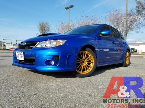 2012 Subaru Impreza for sale at A&R MOTORS in Portsmouth VA