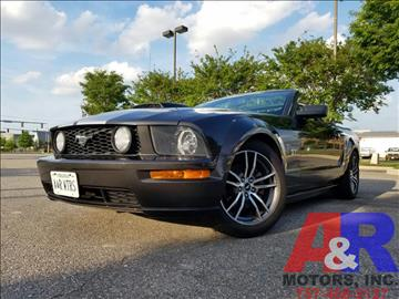 2008 Ford Mustang for sale at A&R MOTORS in Portsmouth VA