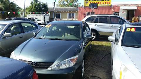 2002 Toyota Camry for sale in Tampa, FL