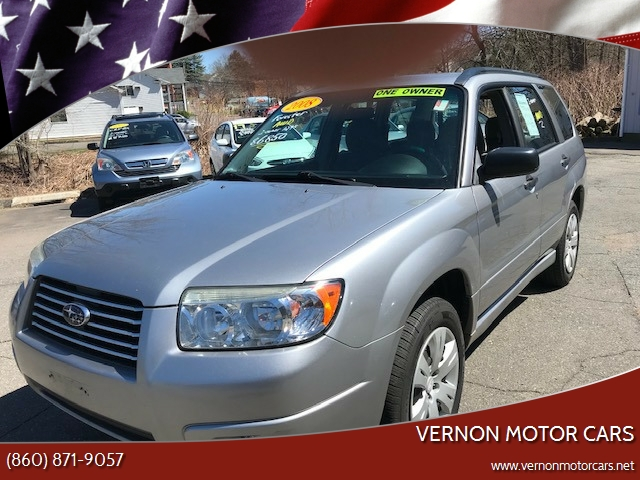 2008 Subaru Forester Awd 2 5 X 4dr Wagon 4a In Vernon Rockville Ct