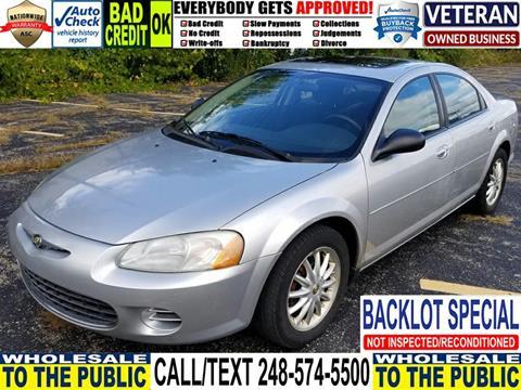 2003 Chrysler Sebring for sale in Waterford, MI