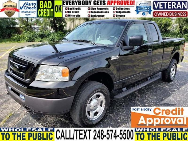 Ford F  Stx Pickup D  Ft Waterford Mi