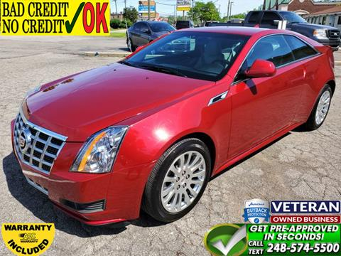2014 Cadillac CTS for sale in Waterford, MI