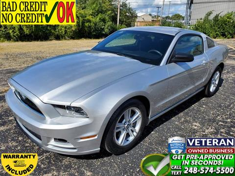 2014 Ford Mustang for sale in Waterford, MI