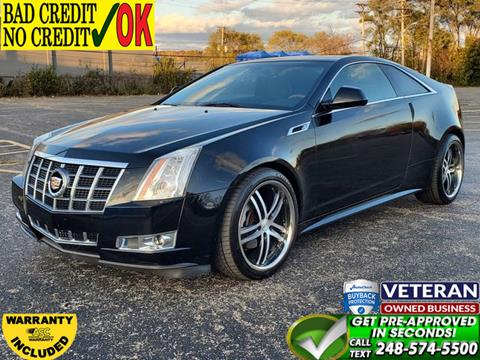 2012 Cadillac CTS for sale in Waterford, MI