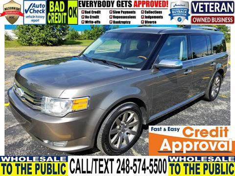2012 Ford Flex for sale in Waterford, MI