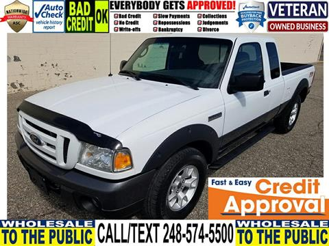 2009 Ford Ranger for sale in Waterford, MI
