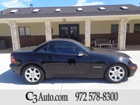 2001 Mercedes-Benz SLK for sale in Plano, TX