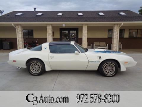 1980 Pontiac Trans Am for sale in Plano, TX