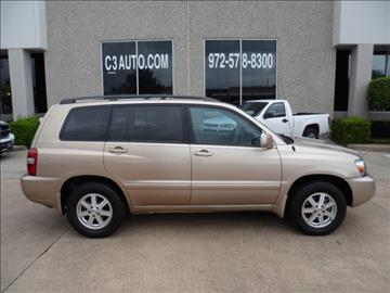 2005 Toyota Highlander for sale in Plano, TX