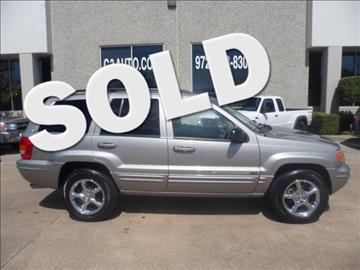 2002 Jeep Grand Cherokee for sale in Plano, TX