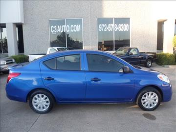 2013 Nissan Versa for sale in Plano, TX