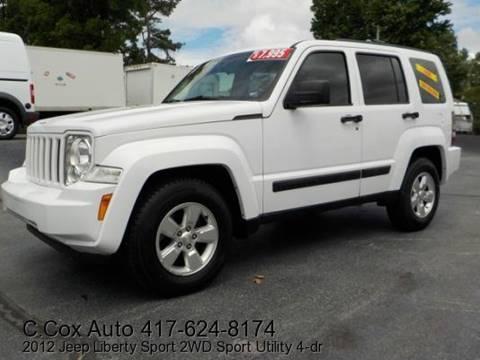 2012 Jeep Liberty for sale in Joplin, MO