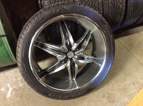"22"" Rims N Tires Like New GM 6 Bolt for sale in Hokah, MN"