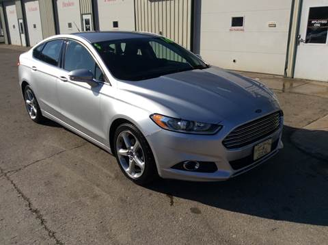 2016 Ford Fusion SE for sale at TRI-STATE AUTO OUTLET CORP in Hokah MN
