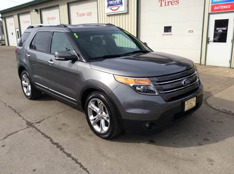 2014 Ford Explorer Limited for sale at TRI-STATE AUTO OUTLET CORP in Hokah MN