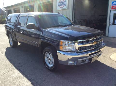 2012 Chevrolet Silverado 1500 for sale at TRI-STATE AUTO OUTLET CORP in Hokah MN