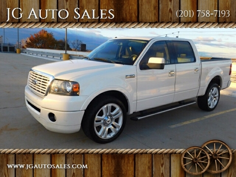 2008 Ford F-150 for sale at JG Auto Sales in North Bergen NJ