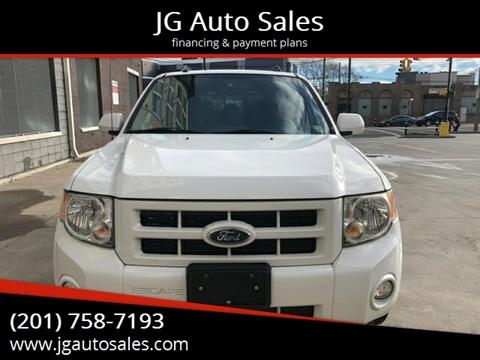 2008 Ford Escape for sale at JG Auto Sales in North Bergen NJ