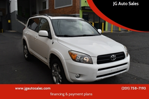 2007 Toyota RAV4 for sale at JG Auto Sales in North Bergen NJ