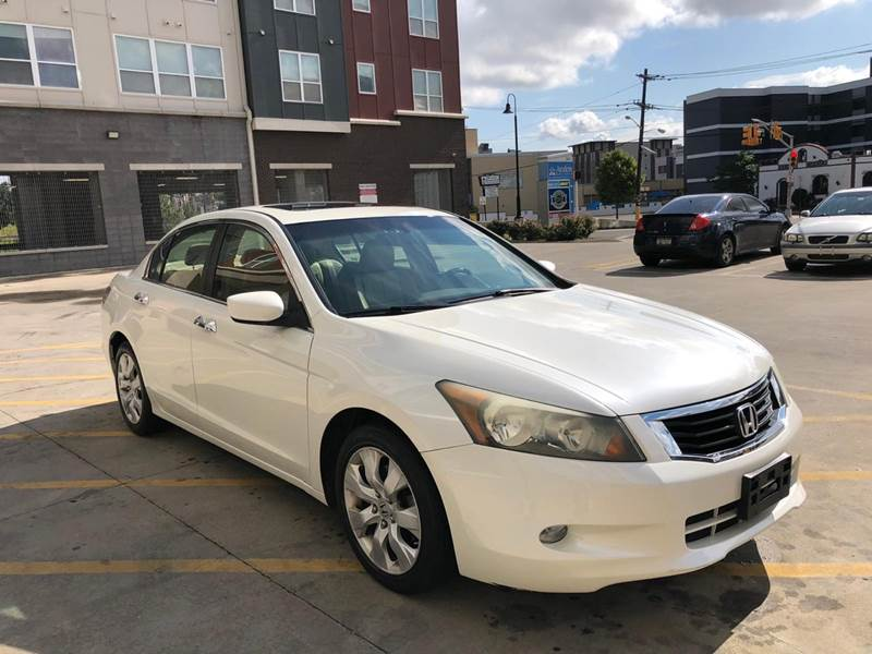 2009 Honda Accord Ex L V6 W/navi 4dr Sedan 5a