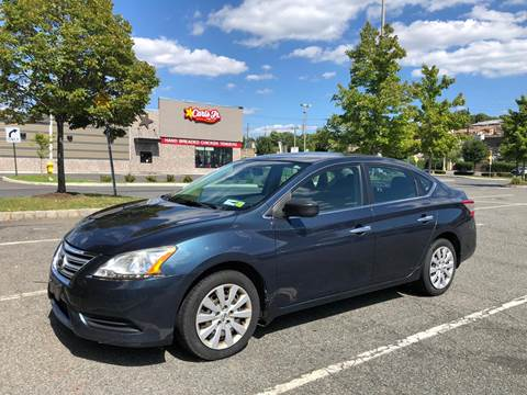 2013 Nissan Sentra for sale at JG Auto Sales in North Bergen NJ