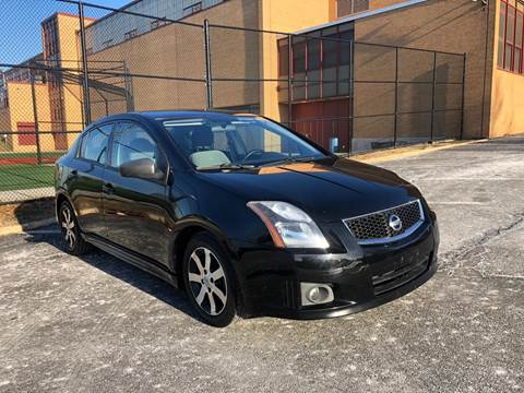 2012 Nissan Sentra for sale at JG Auto Sales in North Bergen NJ