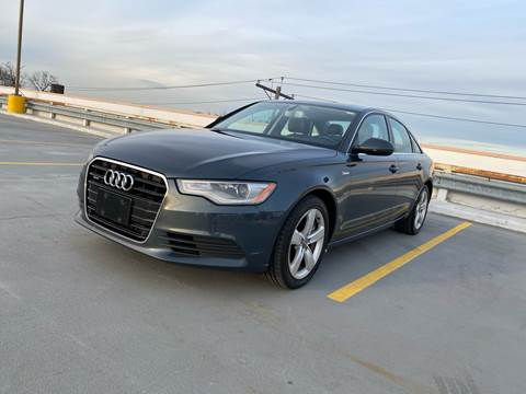 2012 Audi A6 for sale at JG Auto Sales in North Bergen NJ