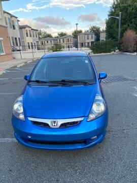 2007 Honda Fit for sale at JG Auto Sales in North Bergen NJ